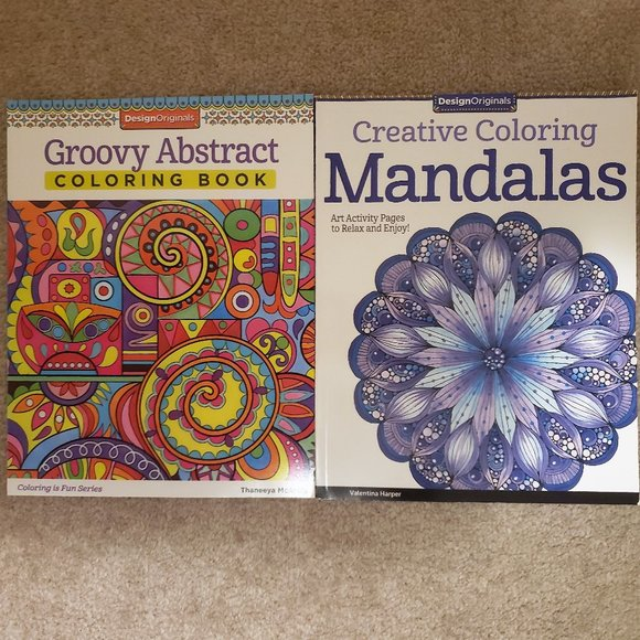 2 for $15 Adult Coloring Books